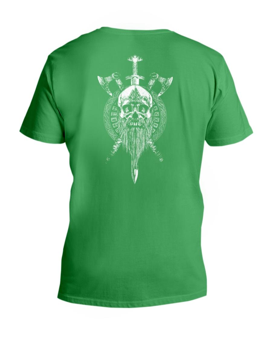 VIKING SKULL - VIKING SHIRT V-Neck T-Shirt