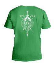 VIKING SKULL - VIKING SHIRT V-Neck T-Shirt thumbnail
