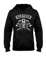 HEATHEN - VIKING SKULL Hooded Sweatshirt thumbnail
