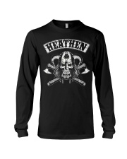 HEATHEN - VIKING SKULL Long Sleeve Tee thumbnail