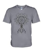 Viking Tree of Life - Viking V-Neck T-Shirt tile