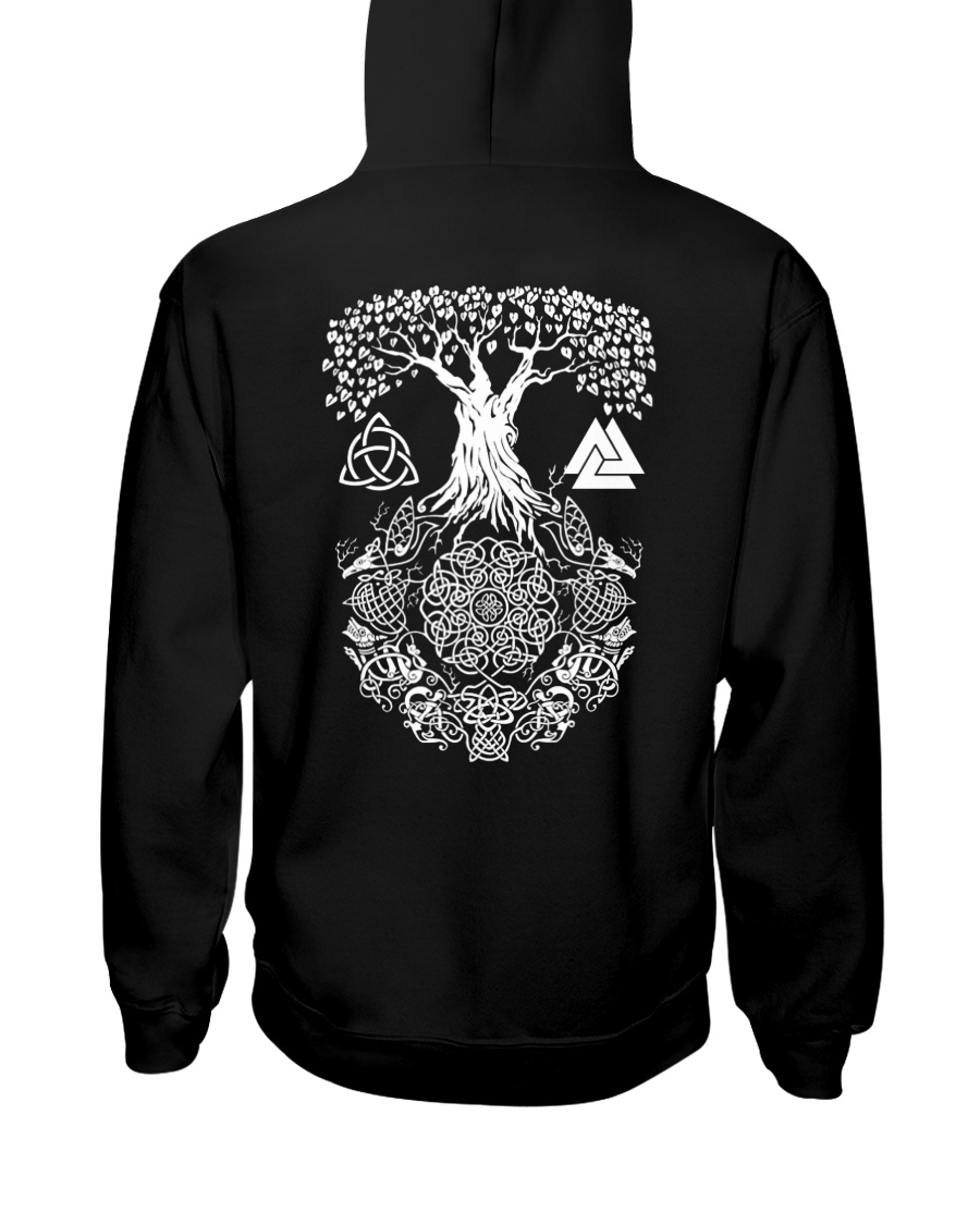 Yggdrasil - VIKING Hooded Sweatshirt