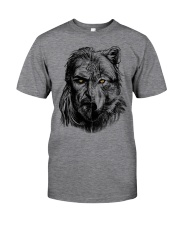 Viking Shirts - Warrior Wolf Valknut Classic T-Shirt front