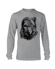 Viking Shirts - Warrior Wolf Valknut Long Sleeve Tee thumbnail