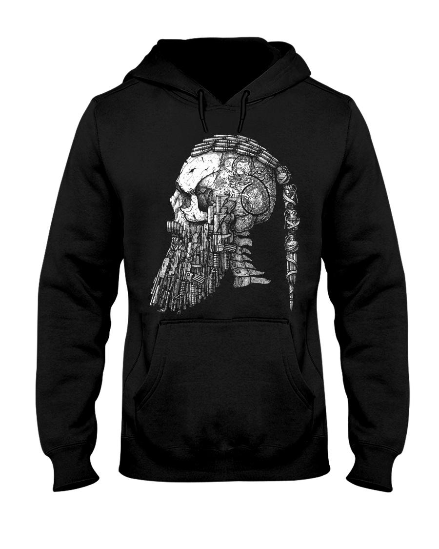 Viking Men - Viking Shirt Hooded Sweatshirt