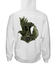 HAMMER - RAVEN - WOLF Hooded Sweatshirt back