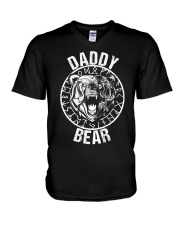Viking Shirt - Daddy Bear V-Neck T-Shirt thumbnail
