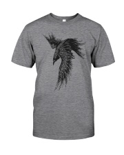 The Raven Of Odin Classic T-Shirt front