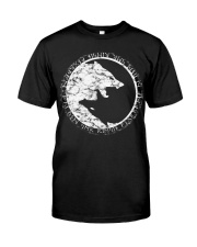 A WOLF OF ODIN - VIKINGZON Classic T-Shirt front