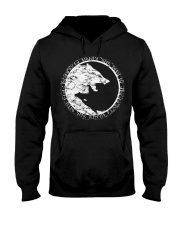 A WOLF OF ODIN - VIKINGZON Hooded Sweatshirt thumbnail