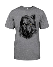 Warrior and Wolf - Viking Shirt Classic T-Shirt tile