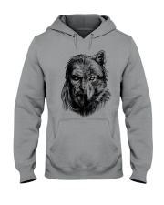 Warrior and Wolf - Viking Shirt Hooded Sweatshirt tile