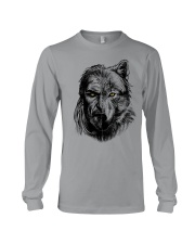 Warrior and Wolf - Viking Shirt Long Sleeve Tee tile