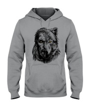 Viking Shirts - Wolf Viking Hooded Sweatshirt thumbnail