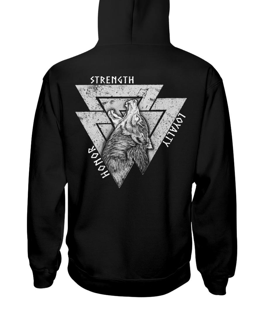 Honor - Strength - Loyalty Hooded Sweatshirt