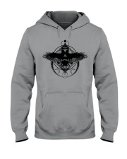 Raven Viking Symbol - Viking Shirt Hooded Sweatshirt front