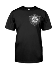 Viking Symbol And Axe - Viking Hoodie Classic T-Shirt thumbnail