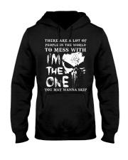 Viking Shirt - I'm The One You May Wanna Skip Hooded Sweatshirt tile