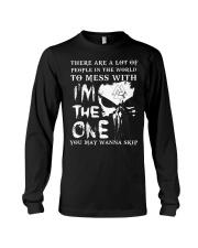 Viking Shirt - I'm The One You May Wanna Skip Long Sleeve Tee tile