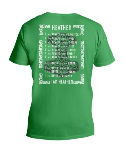 Viking Shirt - I Am Heathen