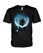 The Sons of Fenrir:Hati - Mani:the moon V-Neck T-Shirt thumbnail