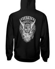 Heathen Odin - Viking Hooded Sweatshirt back
