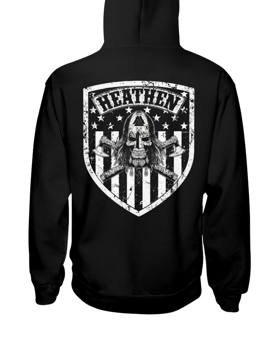 VIKING FLAG - HEATHEN SHIELD Hooded Sweatshirt
