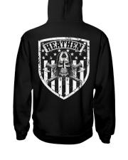 VIKING FLAG - HEATHEN SHIELD Hooded Sweatshirt back