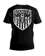 VIKING FLAG - HEATHEN SHIELD V-Neck T-Shirt thumbnail