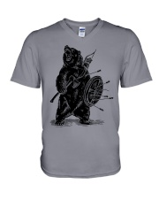 Viking Bear - Viking Shirts V-Neck T-Shirt tile