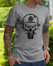 TILL VALHALLA - SKULL VIKING SHIRT Classic T-Shirt lifestyle-mens-crewneck-front-7