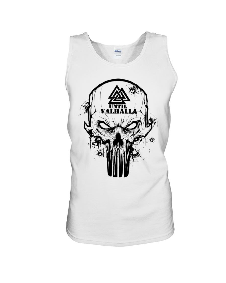 TILL VALHALLA - SKULL VIKING SHIRT Unisex Tank