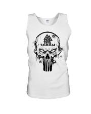 TILL VALHALLA - SKULL VIKING SHIRT Unisex Tank front