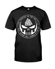Viking Shirt - The Brave Shall Live Forever Classic T-Shirt front