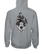 SKULL VIKING SHIRT Hooded Sweatshirt back
