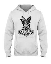 WOLF-RAVE-HAMMER - VIKINGZON Hooded Sweatshirt front