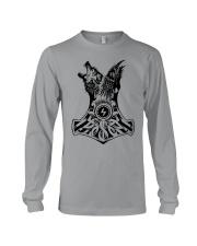 WOLF-RAVE-HAMMER - VIKINGZON Long Sleeve Tee thumbnail