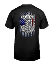 HAMMER AND AMERICA FLAG Classic T-Shirt thumbnail