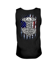 HAMMER AND AMERICA FLAG Unisex Tank thumbnail
