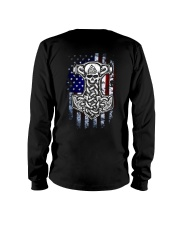 HAMMER AND AMERICA FLAG Long Sleeve Tee tile
