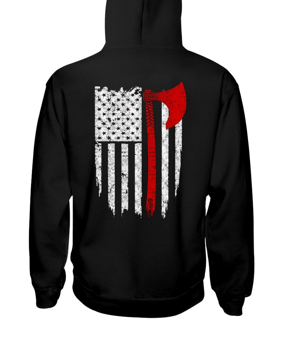 VIKING FLAG - Viking Hoodie Hooded Sweatshirt