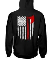 VIKING FLAG - Viking Hoodie Hooded Sweatshirt back