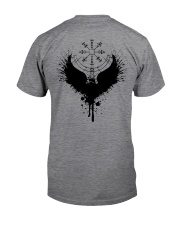Raven Vegvisir - Viking Shirts Classic T-Shirt back