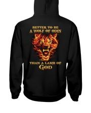 BETTER TO BE A WOLF OF ODIN - VIKING SHIRT Hooded Sweatshirt thumbnail