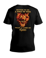 BETTER TO BE A WOLF OF ODIN - VIKING SHIRT V-Neck T-Shirt thumbnail