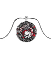 Last Day To Order - BUY IT or LOSE IT FOREVER Metallic Circle Necklace front