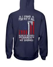 I Stand For My Flag - Viking Hooded Sweatshirt back