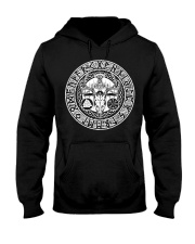 Viking Deer With Rune - Viking Shirt Hooded Sweatshirt thumbnail