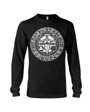 Viking Deer With Rune - Viking Shirt Long Sleeve Tee thumbnail