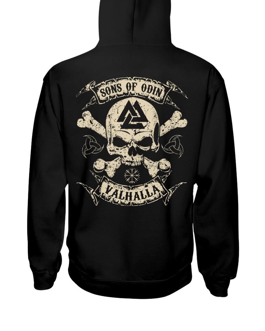 Valhalla Shirts - Viking Heathen Hooded Sweatshirt